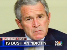 Is Bush an idiot?