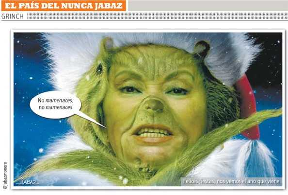Elba Esther Grinch.