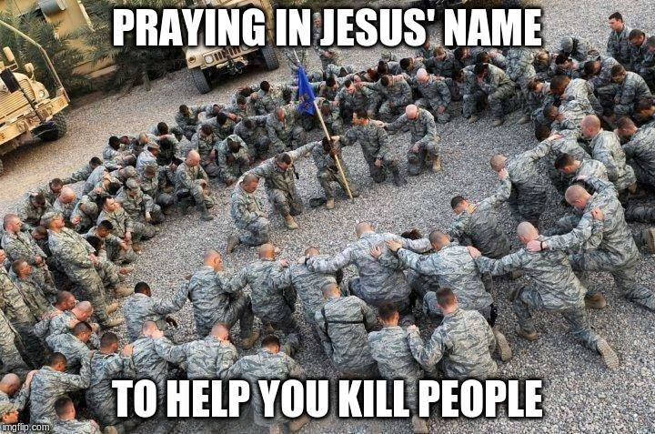 Help for killing people.